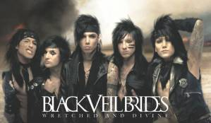 Black Veil Brides as they are in 2013.