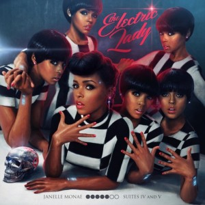 Janelle Monae's 'Electric Lady' embraces the the modern multi-facet woman. Source: Prettymuchamazing.com