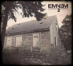 The cover art for the Marshall Mathers LP 2