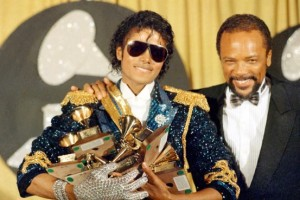 Jackson's award collection for Thriller