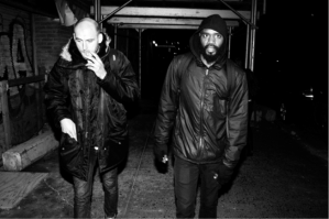 "Death Grips were named ""2012's Artists of the year"" by spin.com Left to right: Drummer Zach Hill and Vocalist MC RIDE Picture by Jimmy Fontaine"